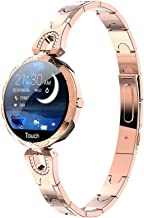 $49 » Smart Watch IP68 Waterproof Fitness Tracker for Women Girl Smart Band 1.08inch Fitness Bracelet with Heart Rate Sleep Monitor, Calorie Counter (Rose Gold, Strap Length:260mm)