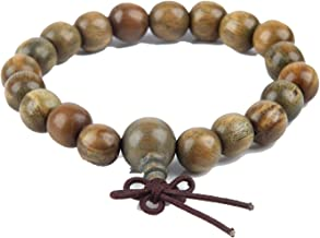 17 15 11 9Mm Palo Santo Wood Buddha Beads Bracelet for Women Men Wooden Bangles Jewelry Gift