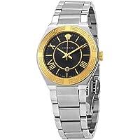 Versace Landmark Quartz Black Dial Ladies Watch
