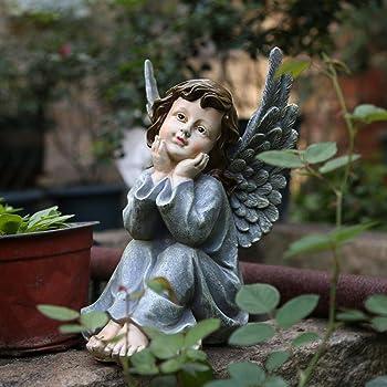 Luxdeoo Decorativas Estatuas Figuritas Escultura Estatuilla ...