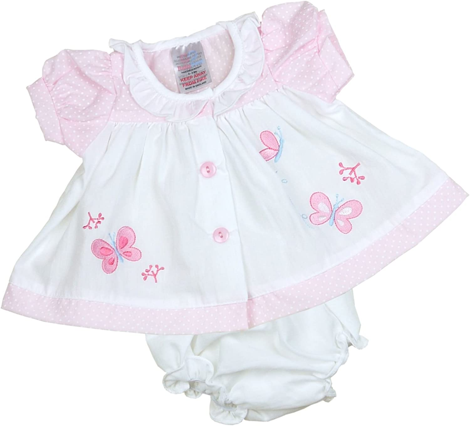 Long-awaited Babyprem Preemie Baby Dress Knickers Butterfly Set Cloth Max 73% OFF Girls