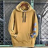 (レフラー) LEFLAH gradation logo プルオーバーフーディー パーカー pullover hoodie parka (L, カーキ)