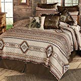 BLACK FOREST DECOR Southern Flare Quilt Set - Queen