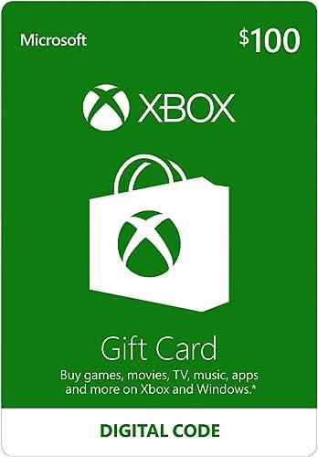 $100 Xbox Gift Card [Digital Code]