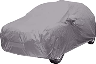ARNV Mirror Pocket, Fabric Car Body Cover for Hyundai i10 Grand (Grey)