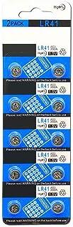 fiveAstar LR41 ボタン電池 アルカリ 10個セット 互換 AG3 L736