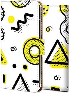 Galaxy Note 10 plus ケース 手帳型 ギャラクシー ノート 10 plus SCV45 カバー スマホケース おしゃれ かわいい 耐衝撃 花柄 人気 純正 全機種対応 簡単なメンフィス-08 ファッション かわいい アニメ 7...