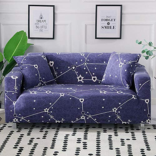 Fsogasilttlv Sofa Cover Furniture Protector Couch 4 Seater and 4 Seater,High Stretch Sofa Cover Full Cover, All-Inclusive Non-Slip Fabric Seat Cushion Sofa Towel Cover 235-300cm and 235-300cm(2pcs)