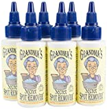 Grandma's Secret Fabric Spot Remover-Pack of 6, Clear, 6 Piece