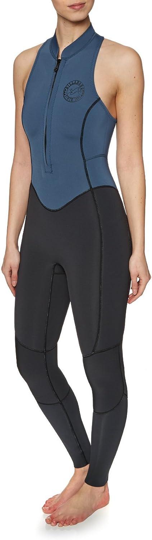 BILLABONG Womens Salty Jane 2MM Sleeveless Long Jane Wetsuit SeasideEasy Stretch Thermal Lining2mm Neoprene