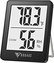 DOQAUS Digital Hygrometer Indoor Thermometer, Humidity Meters, Room Thermometer and Humidity Gauge with Accurate Temperatu...