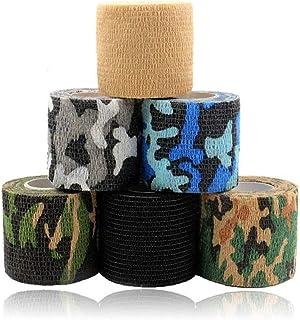 Tattoo Grip Cover - Rayyl 6PCS 2In Wegwerp Tattoo Grip Cover Tape Wrap Elastische Zelfklevende Bandage Adherent Wrap voor ...