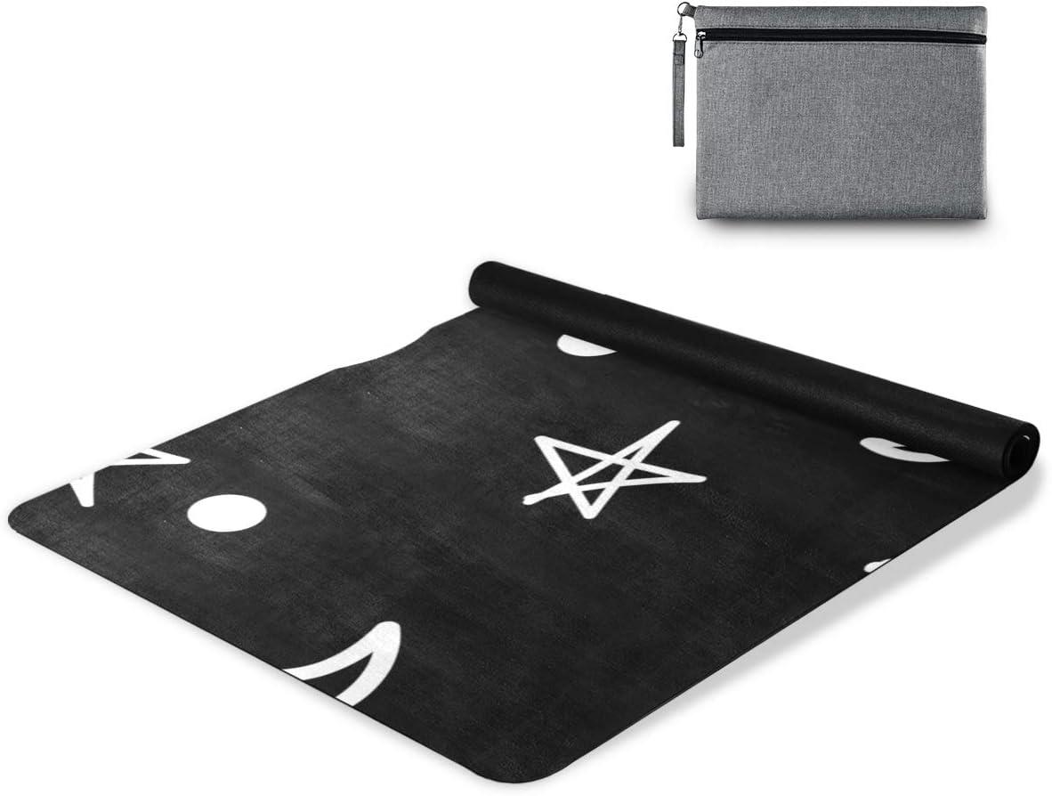 OREZI Abstract Moon Star Yoga Mat Towels Free shipping on posting reviews Non-Slip Absorbent Ranking TOP12