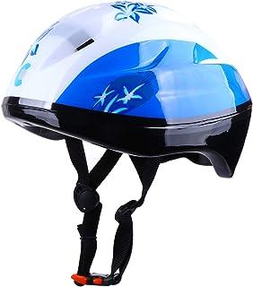 TOYANDONA Kids Skating Helmet Roller Skates Helmet Skateboarding Helmet for Outdoor Blue Size M