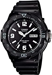 Casio Enticer Watch for Men - Analog Resin Band - MRW-200H