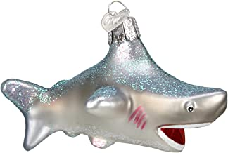 Old World Christmas Shark Sea and Water Animals Glass Blown Ornaments for Christmas Tree