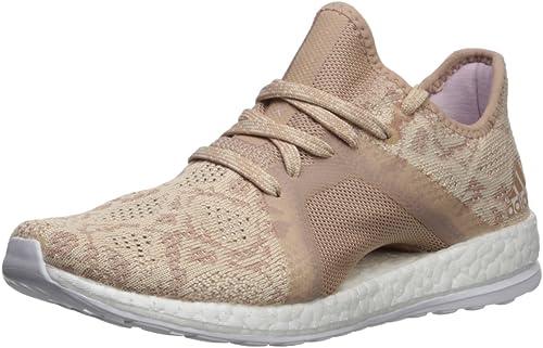 Adidas Perforhommece Wohommes Pureboost X Element Running chaussures, Ash Pearl Ash Pearl Hi-Res bleu, 9 M US
