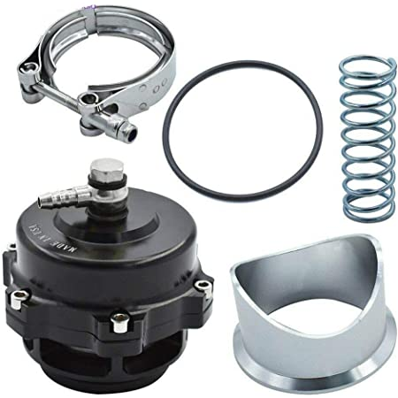 Amazon Com Tial Style 50mm V Band Blow Off Valve Bov Q Type Universal W Weld On Aluminum Automotive