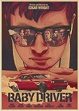 Poster Baby Driver Klassieke Film Serie Vintage Retro Posters En Prints Canvas Schilderij Muursticker Moderne Woninginrich...