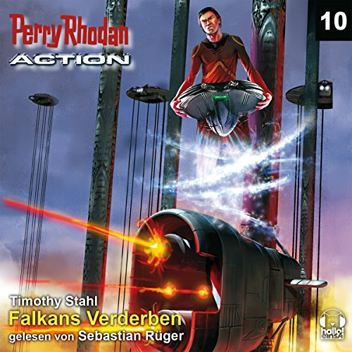 Falkans Verderben audiobook cover art