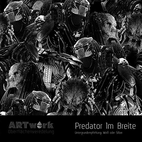 Wassertransferdruck Folie ARTwork Predator 1m Breite