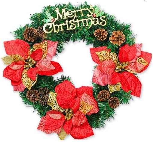 ZHJ Christmas Decoration 2021 Popular products autumn and winter new 45 120cm Wreath Door Hanging