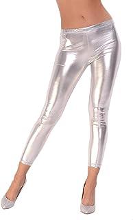 90611be4e6a0e Suchergebnis auf Amazon.de für: leggings silber: Bekleidung