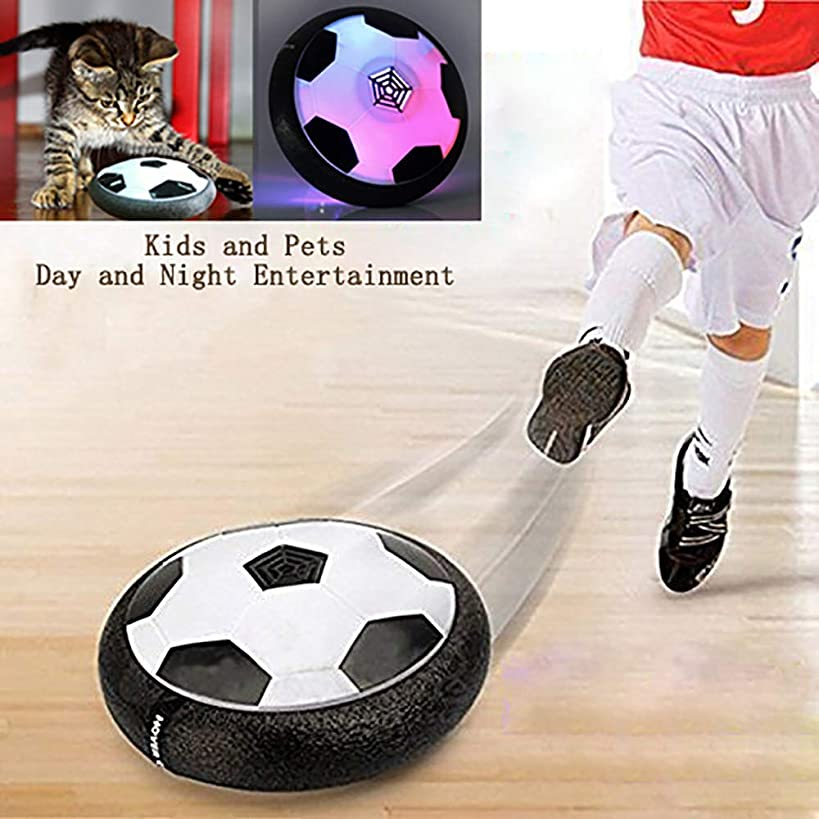 AnrayDiroct Kids Toys Hover Soccer Ball with Colorful LED Lights, Indoor Football Game for Toddlers, Children, Best Gifts for 2-16 Years Old Boys Girls (Hover Ball)