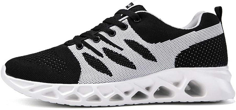 Fashion shoesbox Men's shoes Spring Creative Sneaker Han Version Casual Fashion Flying Knit shoes Couple Size