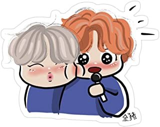 Andrews Mall VMIN Stickers (3 Pcs/Pack)