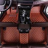 SADGE Alfombrillas Deluxe para Vehículos Totalmente Personalizadas para Lexus RC RC200t RC250 RC300 RC350 2016-2018 Alfombras para Pies De Cuero Alfombras Impermeables para Automóviles 3D