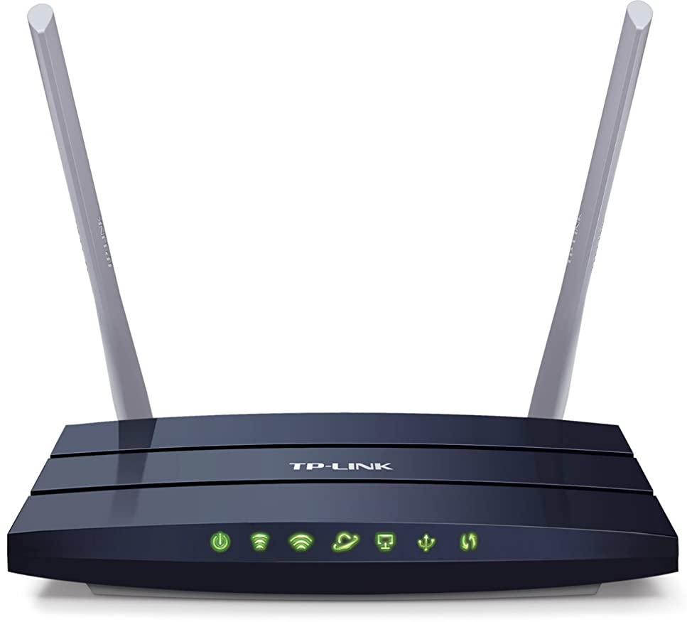 過激派血まみれの規範TP-Link AC1200 Wireless Wi-Fi Dual Band Fast Ethernet Router (Archer C50) by TP-Link