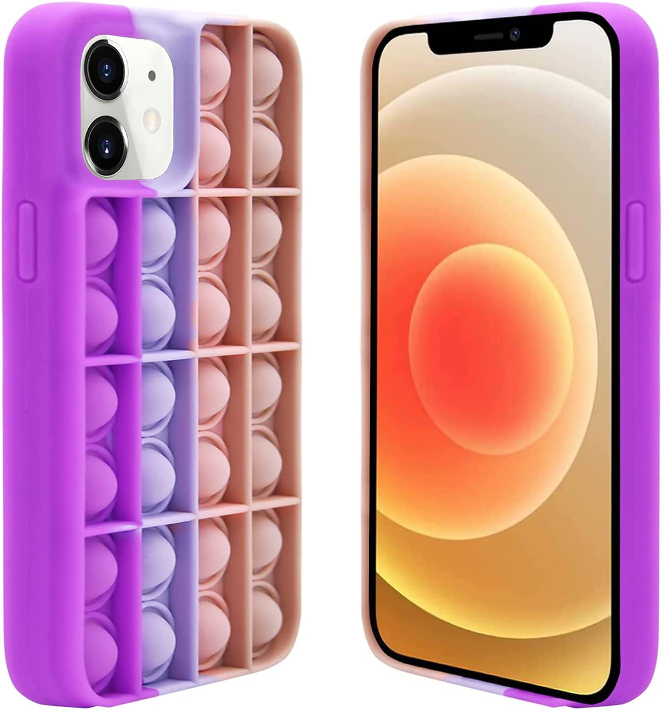 VUIIMEEK Push Sensory Fidget Case for iPhone 11 6.1
