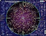 Larsen SS2 Constelaciones, edición en Español, Puzzle de Marco con 70 Piezas