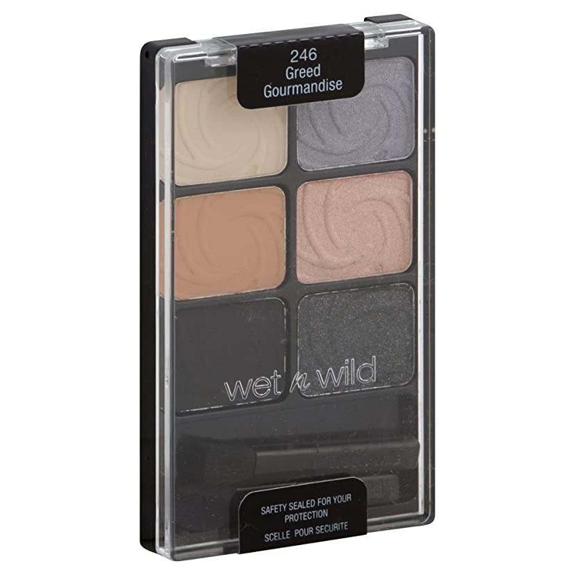 サージハードリング悪いWET N WILD COLOR ICON EYE SHADOW #246 GREED GOURMANDISE