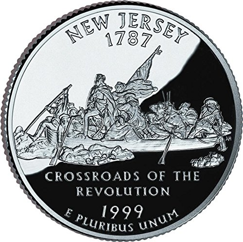 1999 D Bankroll of New Jersey Statehood Uncirculated