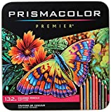 Prismacolor Premier Colored Pencils, Soft Core, 132 Pack