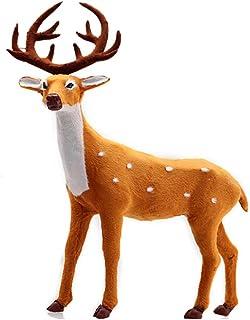 Espeedy Reno de Navidad,Deer Reno Santa Craft Elk Decoración de Navidad Adornos Suministro para