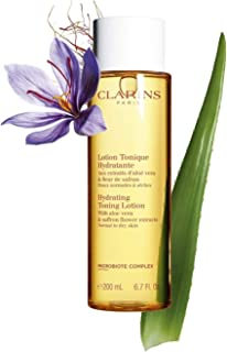 Hydrating Toning Lotion by Clarins for Unisex - 6.7 oz Lotion, Clear
