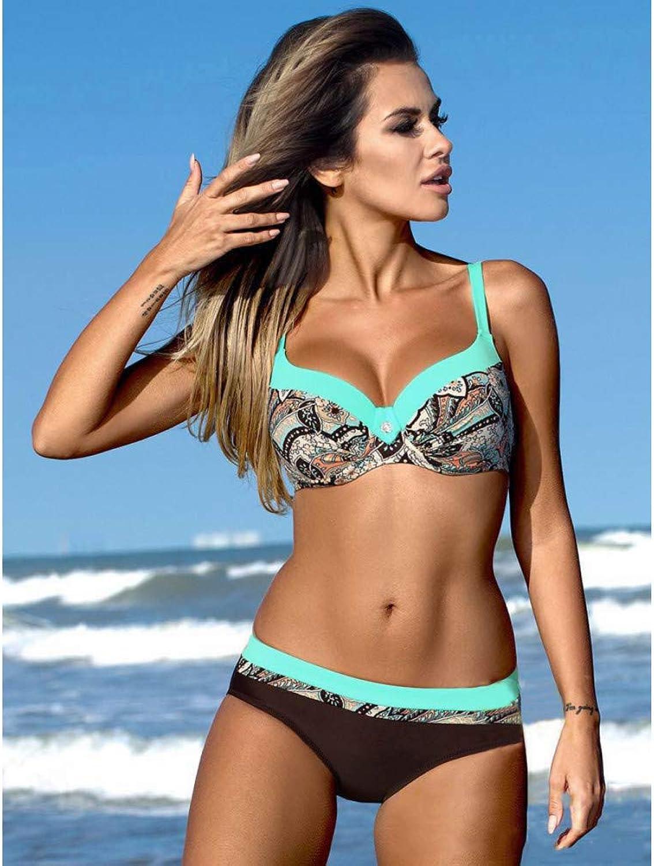 CHENG CHENG CHENG Bikini Frauen Striped Print Bikinis Push Up Badeanzug Body Suit Bademode Weibliche Niedrige Größe Beachwear B07QDMV2YF  Haltbarer Service 8c7c04