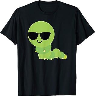 Caterpillar Sunglasses Shirt T-Shirt Insect Bug Tee