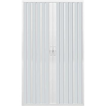 Vergine 110 cm avec Ouverture Centrale ROLLPLAST PINTO Porte paroi de Douche en Plastique PVC Mod