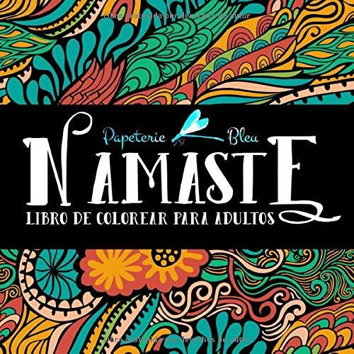 Namaste: Libro De Colorear Para Adultos
