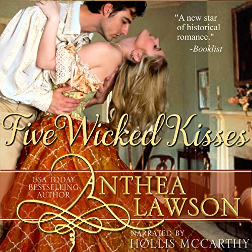 Five Wicked Kisses - A Tasty Regency Tidbit audiobook cover art