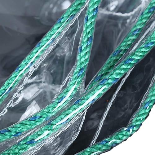 KYSZD-Baches PVC bache Feuille imperméable 500g résistant Camping Camping Balcon Balcon Rideau de Pluie Rideau de Prougeection Solaire en Plastique avec Oeillets