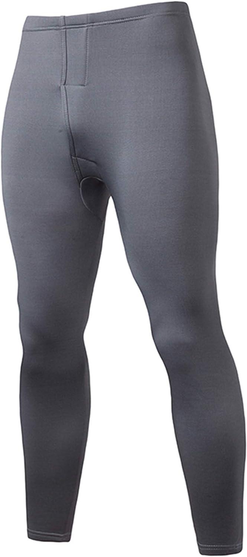 Shuyun Men's Thermal Underwear Set Soft Long Johns Winter Warm Base Layer Top & Bottom
