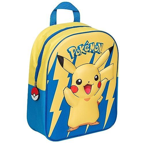 Pokemon POK-8114 Pikachu 3D Effect EVA 32cm Backpack 8a7be5322ac47