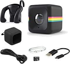 $39 Get Polaroid Cube Act II – HD 1080p Mountable Weather-Resistant Lifestyle Action Video Camera & 6MP Still Camera w/ Image Stabilization, Sound Recording, Low Light Capability & Other Updated Features