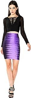 Wow Couture Raining Purple Mini Skirt