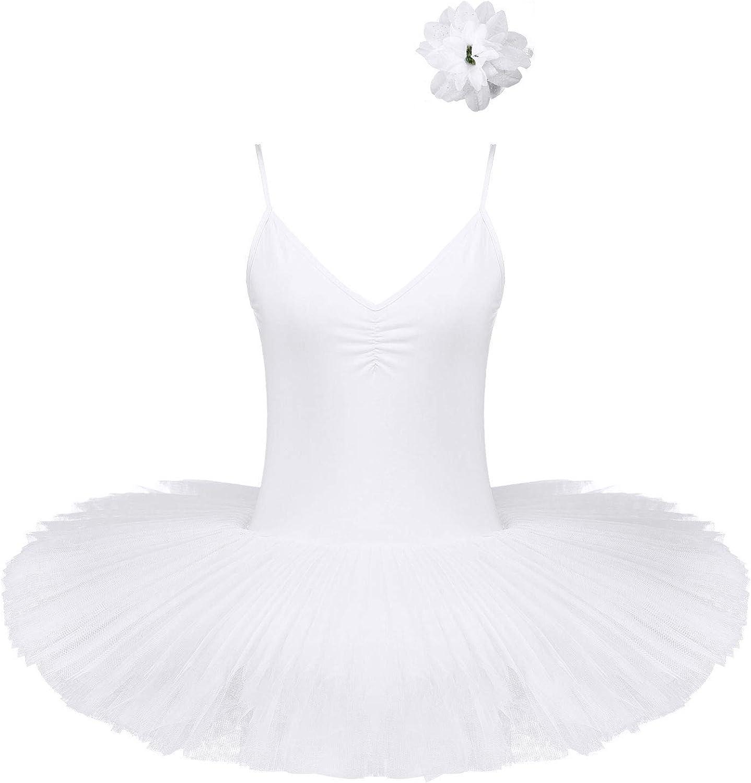 Freebily Women Ballet Max 66% OFF Tutu Bustle Finally resale start Swan 3D Lake Costumes L Flower